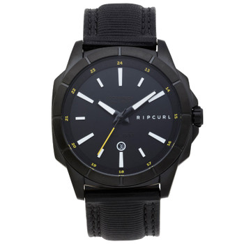 Rip Curl Mayhem Analogue Leather Watch - Midnight