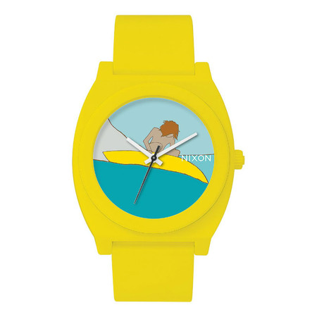 Nixon Base Time Teller P - Yellow A.D.