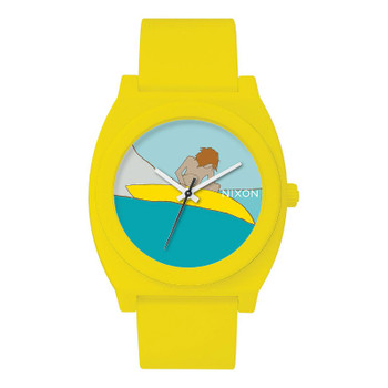 Nixon Time Teller P Watch - Yellow Andy Davis