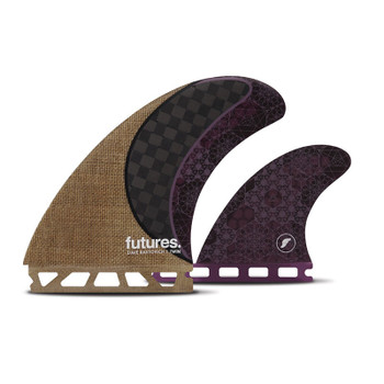 Futures Fins Rasta Twin+1 Fin Set