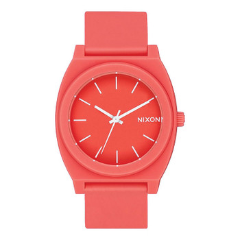 Nixon Time Teller P Watch - Matte Coral