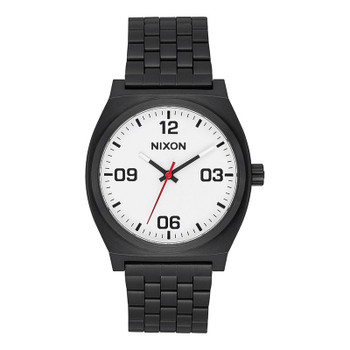 Nixon Time Teller Corp Watch - Black / White