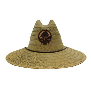 Moment Lifeguard Round Rock Straw Sun Hat