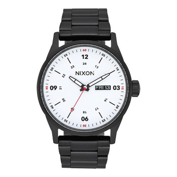 Nixon Sentry SS Watch - Black / White