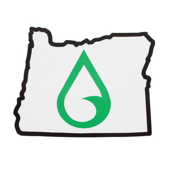 Moment Oregon Drop Logo Sticker