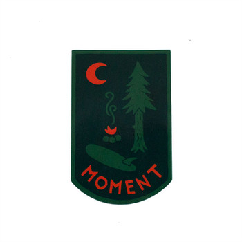 Moment Campsite Sticker