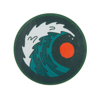 Moment Round Wave Sticker