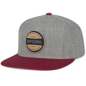 Rip Curl Staple Snapback Hat - Heather Grey