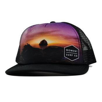 Moment Stary Night Photo Trucker Hat