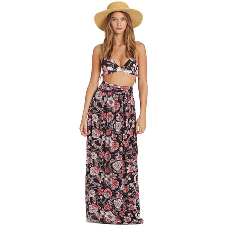 Billabong High Tides Maxi Skirt - Black