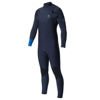 Rip Curl Dawn Patrol Chest Zip 3/2mm Wetsuit - Blue