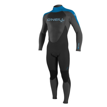 O'Neill Youth Epic 4/3 Wetsuit - Black/Graphite/Blue