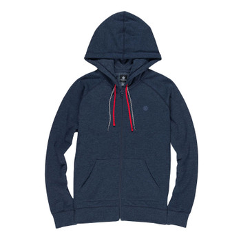 Element Lette Zip Up Hoodie - Indigo