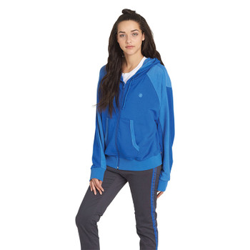 Element Be Still Zip Hoodie - Bright Blue