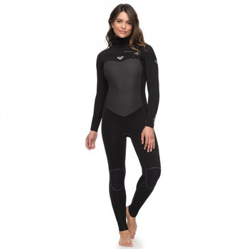 Roxy Performance 5/4/3 Chest Zip Hooded Wetsuit