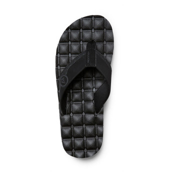 Volcom Recliner Sandal - Black Destructo