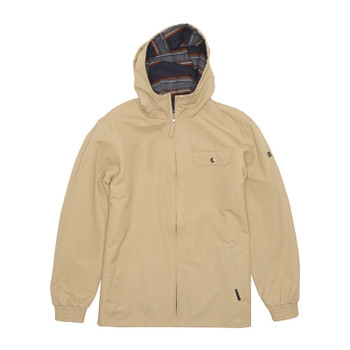 Vissla Breakers Reversible Jacket - Khaki