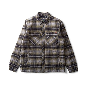 Billabong Barlow Plaid Flannel - Military