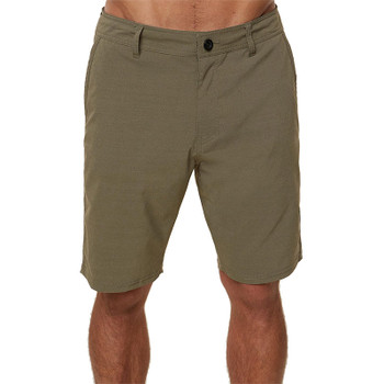 O'Neill Stockton Hybrid Shorts - Military Green - Front