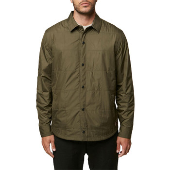 O'Neill Traveler Reversible Jacket - Military Green - 2