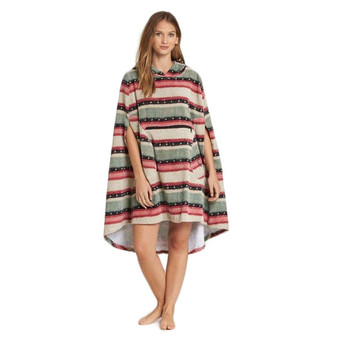 Billabong Hooded Poncho - Sugar Pine