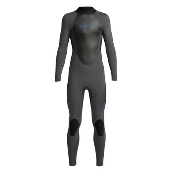 Xcel Youth Axis Back Zip 5/4 Wetsuit -Jet Black