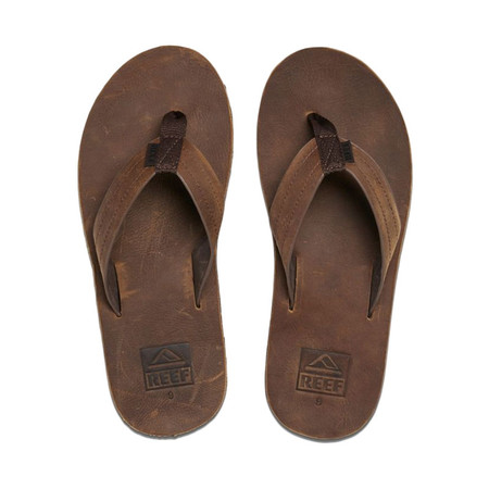 Reef Voyage LE Sandal - Dark Brown - Top