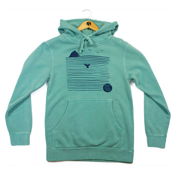 Cold Water Girls Rock N' Whale Hoody - Seafoam