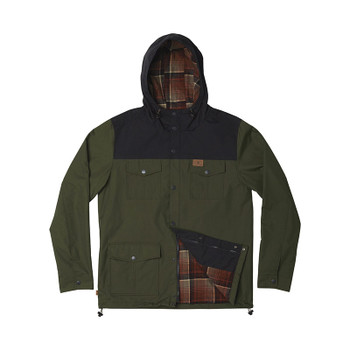 HippyTree Santos Jacket - Army