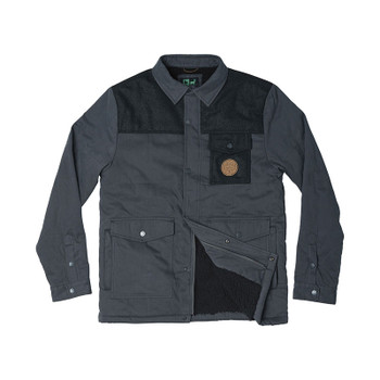HippyTree Atlantic Jacket - Asphalt