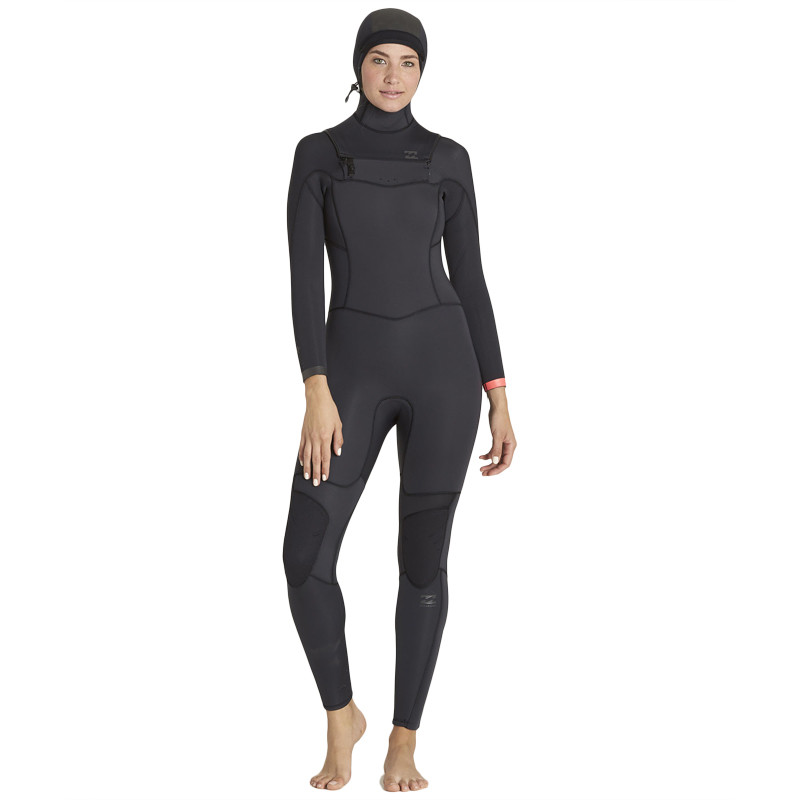 62ad2b3b23 Billabong Women s Synergy 5 4 Hooded Wetsuit