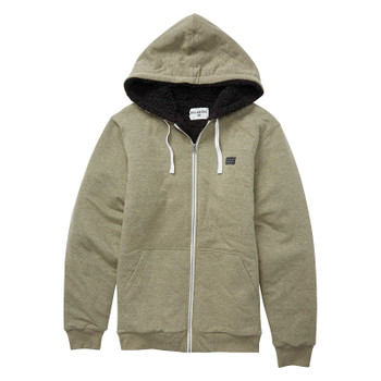 Billabong All Day Sherpa Zip - Military