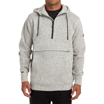 Billabong Boundary Pullover Hoodie - Grey Heather