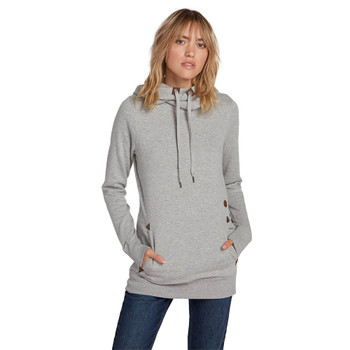 Volcom Tower Pullover Fleece - Heather Grey