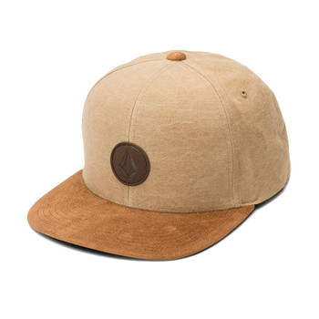 Volcom Quarter Fabric Hat - Old Gold