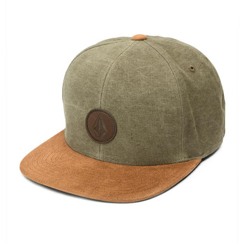 Volcom Quarter Fabric Hat - Army Green Combo