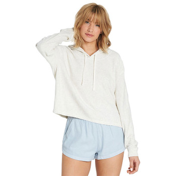 Billabong Short Story Fleece Hoodie - Ice Athletic Grey