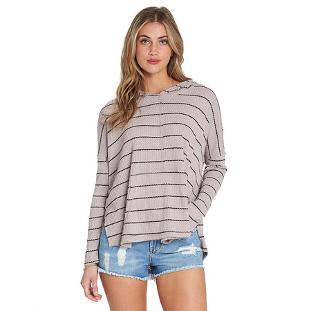 Billabong These Days Long Sleeve Pocket Tee - Stone