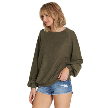 Billabong Dance For You Sweatshirt - Olive