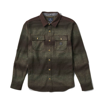 Roark Revial Nordsman Flannel - Dark Brown