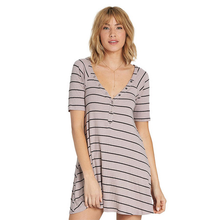 Billabong Hide Away Knit Dress - Stone