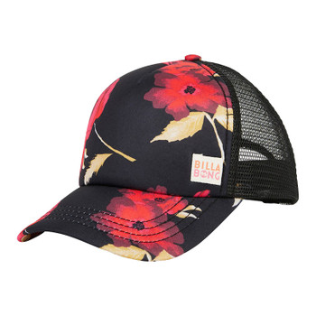 Billabong Girls Shenanigans Trucker Hat - Bright Red