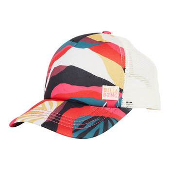 Billabong Girls Shenanigans Trucker Hat - Pineneedle