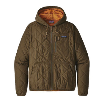 Patagonia Men's Diamond Quilted Bomber Hoody - Sediment