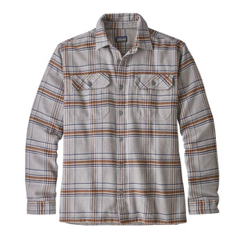 Patagonia Men's L/S Fjord Flannel - Feather Grey