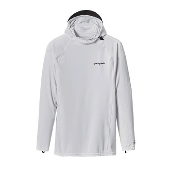 Patagonia Men's R0 Hoody - White / Feather Grey