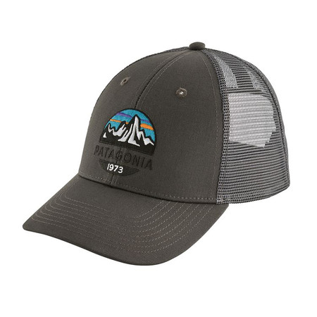 Patagonia Fitz Roy Scope Lopro Trucker Hat - Forge Grey