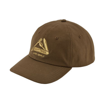 Patagonia Live Simply Pocket Knife Trad Cap - Timber Brown