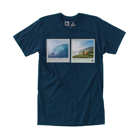 HippyTree Capture Tee - Navy