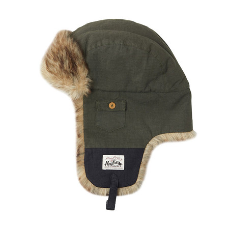 Hippytree Fargo Hat Beanie - Military